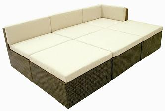 BASEL FREE FORM LOUNGE 6 PC SECTIONAL NEW!