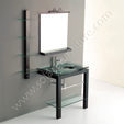 Glass Vanity Set - Aspen single VG-121