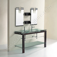 Glass Vanity Set - Aspen Double VG-126