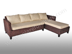 Anguila Sectional Chocolate