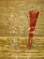 Glass Vase V-1996