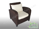 Ch-Mallorca Club Chair Chocolate