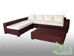 Atlantis Sectional Chocolate