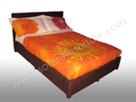 Bed Tahiti Queen Chocolate